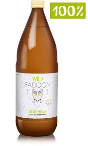 Wild Baboon Aloe Vera 100% Bio Direktsaft